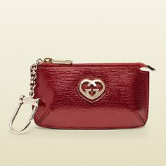 Gucci Shiny Leather Key Case #gifts