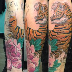 awesome Top 100 tiger tattoo - http://4develop.com.ua/top-100-tiger-tattoo/ Check more at http://4develop.com.ua/top-100-tiger-tattoo/