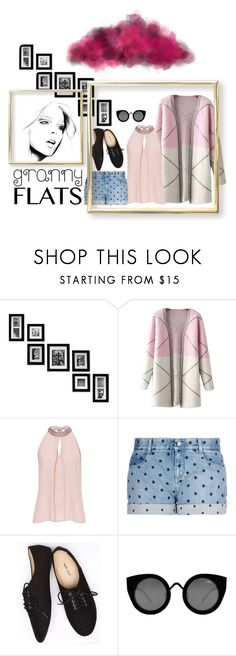 """flats"" by tobash21 ❤ liked on Polyvore featuring Chicnova Fashion, Vera Mont, STELLA McCARTNEY, Wet Seal and Quay"