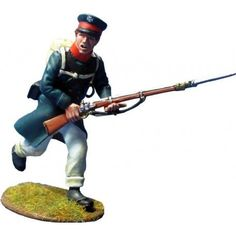 NP 352 East Prussian Landwehr charging 1 Metal Toys, Toy Soldiers, Army, Military