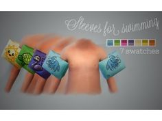 The Sims 4 vintage-simmer: Sleeves for swimming The Sims 4 Pc, Sims Four, My Sims, Sims Cc, Sims 4 Toddler Clothes, Sims 4 Cc Kids Clothing, Toddler Boys, Sims 4 Body Mods, Sims 4 Mods