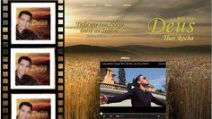 Página de vídeos do site do Cantor Theo Rocha