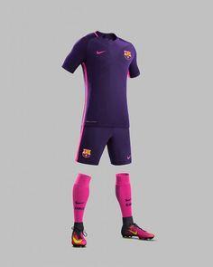 FC Barcelona Away Kit 2016-17