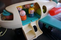 Anne's Odds and Ends: Fisher Price Friday - Airport Jet from #966