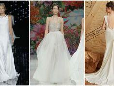 Vestidos de novia 2017: las 5 tendencias que tienes que saber para encontrar tu traje ideal