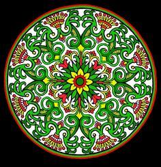 Mystical Mandala Coloring Book (Dover Design Coloring Books ...