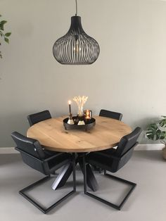 Home Interior, Interior Decorating, Interior Design, Nyc Apartment Luxury, Round Wood Dining Table, Home Salon, Home Living Room, Decoration, Sweet Home