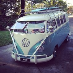 Kombi  surfcar....Brought to you by #House of #Insurance in #EugeneOregon