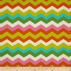 Candy Colored Chevron Spring 2014