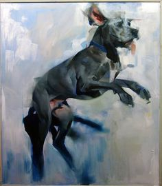 "Saatchi Art Artist: Benjamin Björklund; Oil 2014 Painting ""Solomon"""
