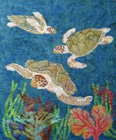 Quilt Inspiration: Quilt Inspiration classics: Aquarium quilts and seascapes