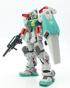 1/144 UC対応 RG base GM III: Remodeling Work by wire effect. Full Photoreview many hi res images