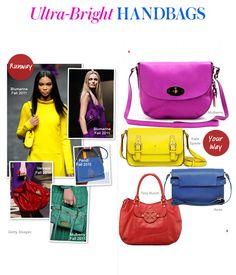 Ultra-Bright Handbags