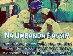 A Umbanda é Paz e Amor, um Mundo cheio de Luz