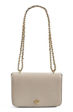 This color or black!   Tory Burch 'Robinson' Saffiano Leather Shoulder/Crossbody Bag available at #Nordstrom