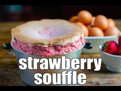 Video: Strawberry Soufflé (GF)