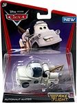 Name: Take Flight Autonaut Mater Manufacturer: Mattel Toys Series: Disney / Pixar Cars Take Flight 1:55 Die Cast Car (Hot Wheels Size) Release Date: July 2012 For ages: 4 and up Details (Description): The Disney / Pixar Cars characters take flight in the Disney Pixar short film Air Mater