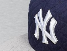 New York Yankees Quilt Team 59Fifty Fitted Baseball Cap by NEW ERA x MLB