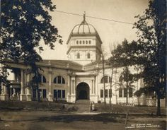 Texas State Building at the 1904 World's Fair.