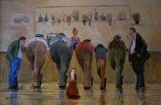 'Clubbers'   Gallery   Des Brophy