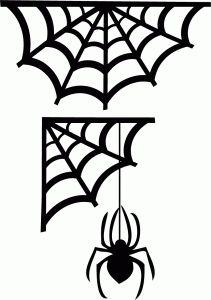 #91814: corner spider webs