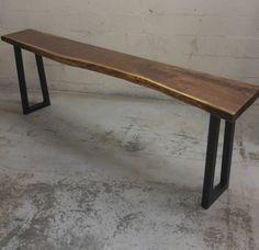 Black Walnut Bar Top Tables Slabs Live Edge Table