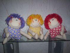 Bonecas Sorriso Trigêmeas