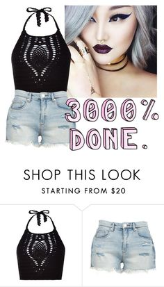 """Untitled #136"" by hiimsatanic ❤ liked on Polyvore featuring New Look and BLANKNYC"