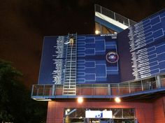Updating the draw at The US Open