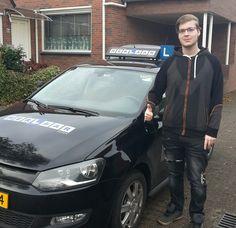 Ralph is ook geslaagd voor zijn #rijbewijs www.rijlesassen.nl #rijschool #assen #peelo #autorijschool