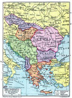 Rumania Map