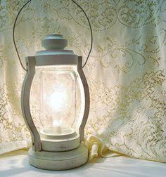 mason jar lantern