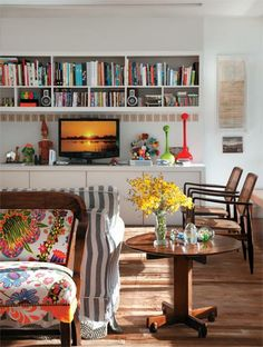 Isabela Capeto e seu apartamento repleto de cores e estampas - Casa