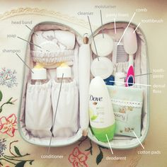 Packed Groomy Overnight Toiletry Bag