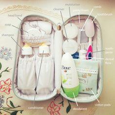 Packed Groomy Overnight Toiletry Bag