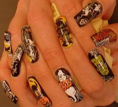 Halloween nails?  Get your FREE No Obligation Wellness Evaluation TODAY! www.WellnessScore.co.uk