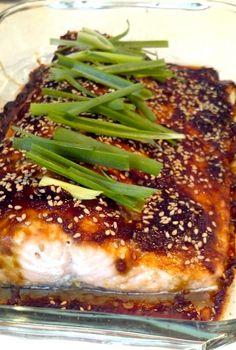 Teriyaki Glazed Salmon have to try!!