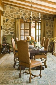 30+ Awesome Rustic Western Dining Room Ideas