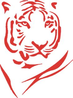 Tiger tattoo....I want this in blk....