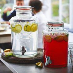 Kilner Getränkespender in krüge bei Lakeland Deutschland