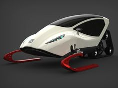 snow mobile of the future...