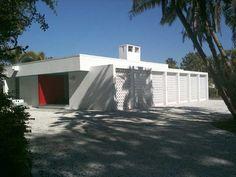 Mid-Century Modern: Ness House, Sarasota, FL (1959).  Tim Seibert, Architect.
