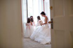 Graydon Hall Manor bride with flowergirls Flower Girls, Flower Girl Dresses, Graydon Hall Manor, Bridal Suite, Toronto Wedding, Documentary, Love Story, Boston, Wedding Photography