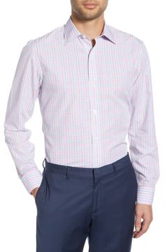 online shopping for Bonobos Rancho Slim Fit Plaid Dress Shirt from top store. See new offer for Bonobos Rancho Slim Fit Plaid Dress Shirt Pink Plaid Shirt, Flannel Shirt, Plaid Dress, Dress Shirt, Topman Shorts, Maternity Nursing Pajamas, Satin Trousers, Dress Cuts, Grey Pants