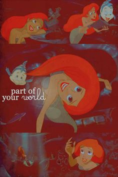 The Little Mermaid Fan Art: Part of your World - Picspam