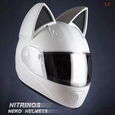 Neko-Helmet – Des casques de moto adorables avec des oreilles de chat