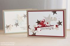 Weihnachtskarte Stampin Up Christmas Card Karte Card 174