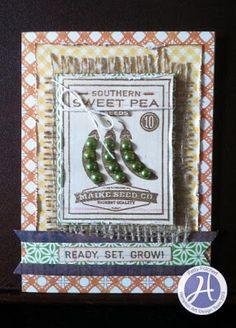 Hampton Art Blog: Jillibean Soup/Fresh Vegetable Small stamp set and Jillibean papers