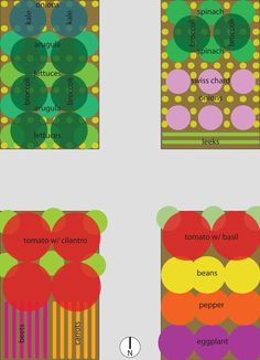 Raised Bed Garden Plan #3 - another alternative for the small garden from www.hipchickdigs.com