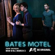 Bates Motel.... so cool! based off of Alfred Hitchcock's psycho!